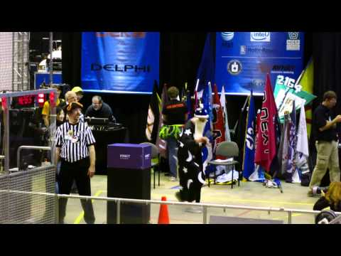 Team 254 Kinect Hybrid at the FRC World Championship