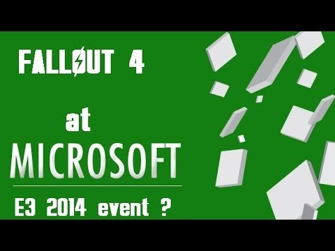 Fallout 4 at Microsft's E3 event (links in description) ?