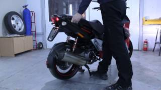 Gilera Runner 280cc malossi exhaust system