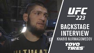 """UFC 223: Khabib Nurmagomedov - """"I"""
