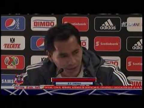 Reporte de Chapis con las declaraciones de Benjamin Galind en Zona Chiva de TDN 13 Ago 2013