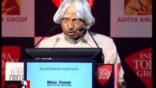 "India Today Conclave 2013 : ""I Was Spotted As A Young Scientist By Dr. Vikram Sarabhai"""
