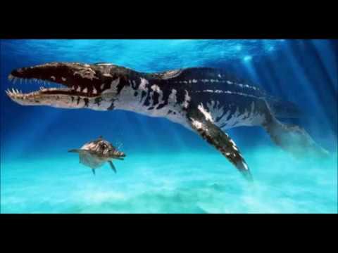 liopleurodon vs mosasaurus - YouTube