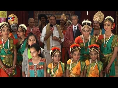 Sri Pasumarthi Venkateswara Sarma Kuchipudi Dance In New jersey : TV5 News