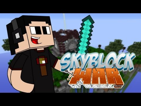 Skyblock Wars con la Razita. Bean3r y Tum Tum!!