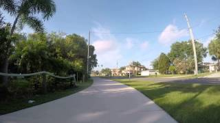video It's a warm sunny wonderful day for biking through the streets of Safety Harbor and Clearwater, Florida on the way to work on the morning of April 08, 2015. Route Map - www.mapmyride.com/...
