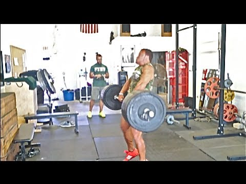 [TRAIN] Spontaneous Power Clean Mess Image 1