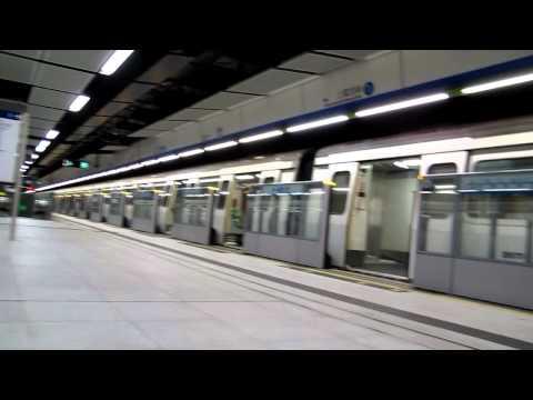 西港島線延線軌道工程開始前-8月5日往上環尾班列車由柴灣開出