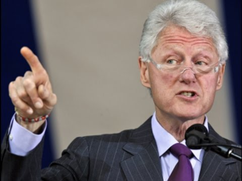 Bill Clinton's Historical Revisionism: What if Trump tried to pull this?