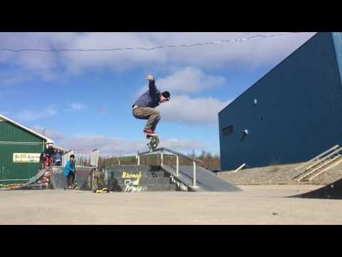 Never Growing Up - Skateboarding in the Arctic