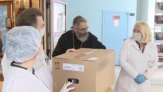 Помощь медикам от Белорусской православной церкви