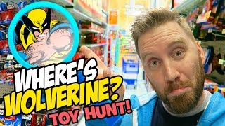 "WOLVERINE Toys Hunt & TOYS ""R"" US Shopping!!! Imaginext, Marvel Toys, Ninja Turtles by KidCity"
