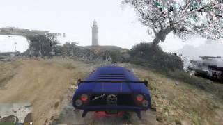 GTA 5 прыжок на маяк