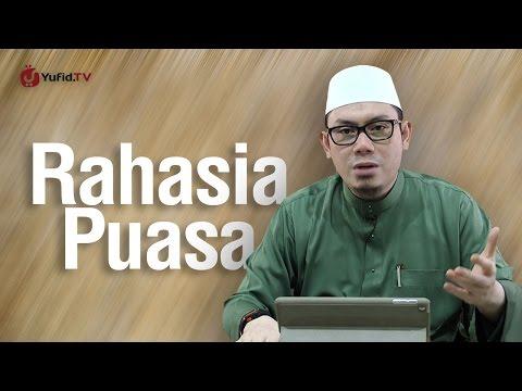 Ustadz Ahmad Zainuddin, Lc - Rahasia Puasa