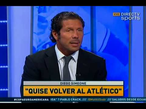 "DIRECTV Sports™ - Diego Simeone en ""Fútbol Total"""