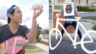 TOP Zach King Magic Tricks Show   Most Satisfying Funny Magic Vines Video 2018