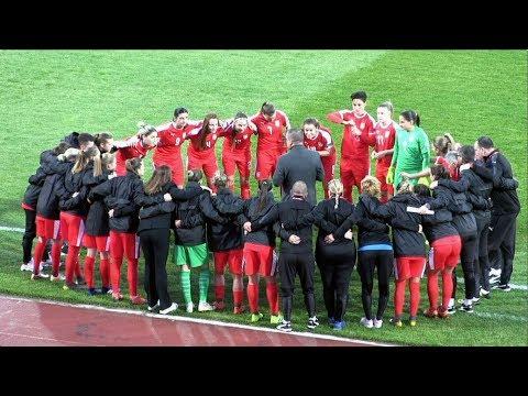 UEFA žene Euro kvalifikacije: Srbija - Austrija 0:1, Niš, 8.10.2019.