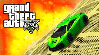 GTA ONLINE - VERY DIFFICULT CUSTOM STUNT RACES! - INSANE FIRE-PIT RACE & MORE! (GTA 5)