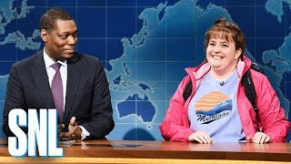Weekend Update: Travel Expert Carrie Krum - SNL
