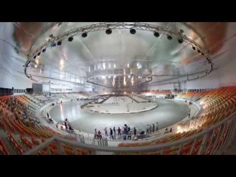 Олимпийский Овал «Адлер Арена», Сочи. Открытие. (Olimpic Oval «Adler Arena», Sochi. OPENING)
