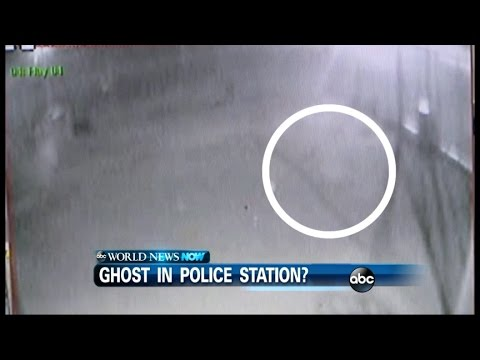 Ghost Appears On Police Surveillance Video video