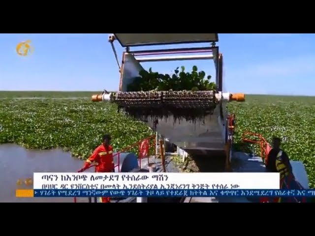 Ethiopia: The Machine To Remove Emboch From Lake Tana