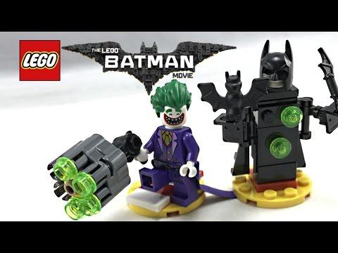 LEGO Batman Movie Joker Battle Training review! 2017 polybag 30523!