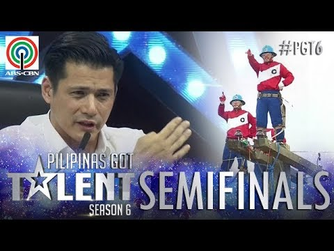 Pilipinas Got Talent 2018 Semifinals: Cebeco II Blue Knights - Pole Balancing