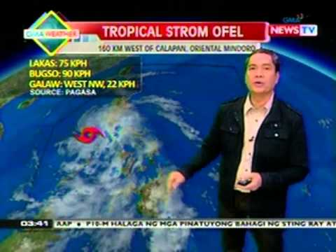 BP: Weather update as of 3:40 p.m. (October 25, 2012)