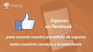 Conozca la página de Serenus en Facebook