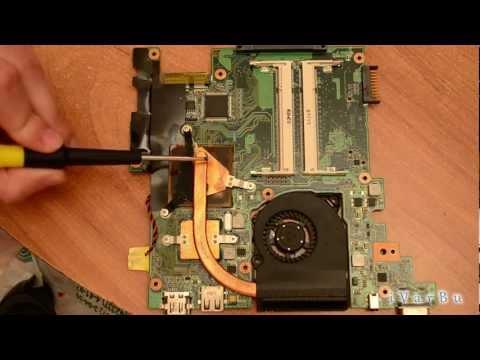 Как разобрать ASUS EEE 1201N / How to disassemble NetBook ASUS EEE 1201N