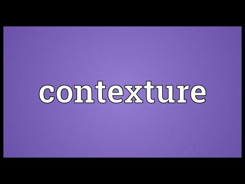 Header of contexture