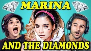 COLLEGE KIDS REACT TO MARINA AND THE DIAMONDS by : FBE