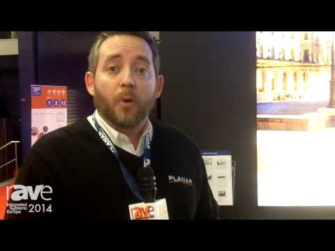 ISE 2014: Planar Shows Off New Clarity Matrix with G2 Archittecture Video Wall System