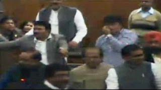 Pepper-spray in Parliament, bangles and lipstick in Delhi assembly
