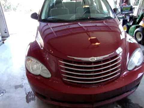 2006 Chrysler PT Cruiser tour and start up