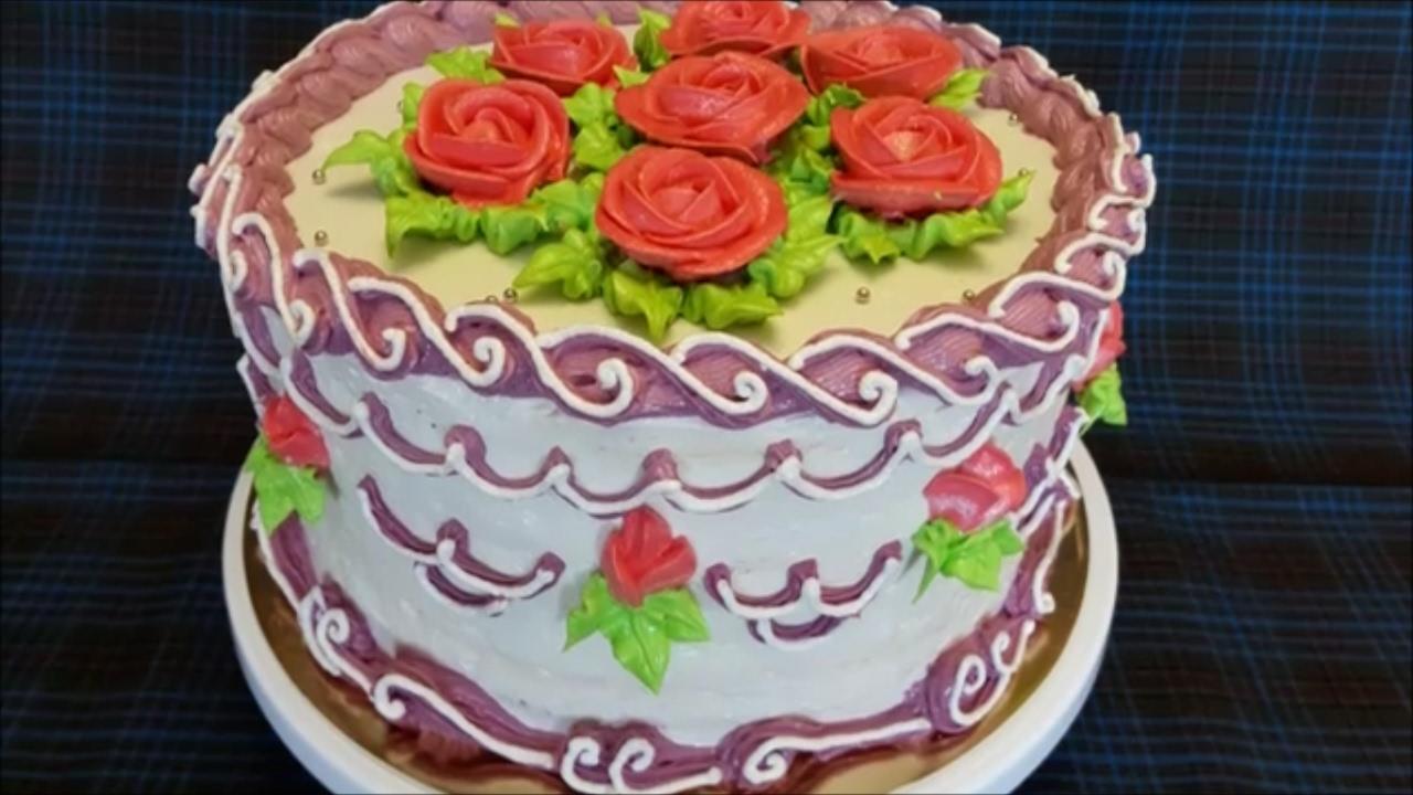 Как украсить торт рецепт с пошагово