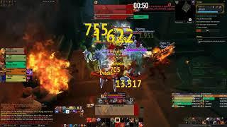 World of Warcraft BFA Tol Dagor +11 Fury POV