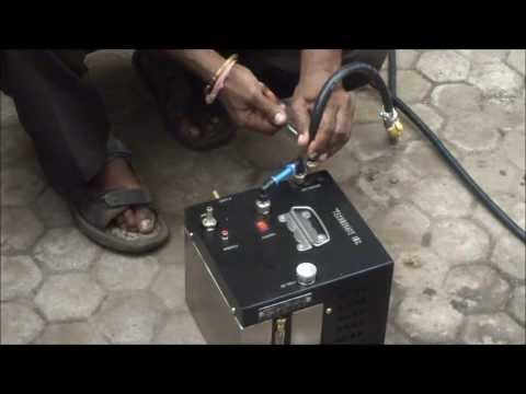 Fuel Average Testing Machine demo on Chevrolet Beat Diesel