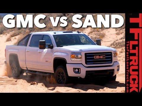 Can the GMC Sierra 2500 HD All Terrain X Plow Sand and Snow?