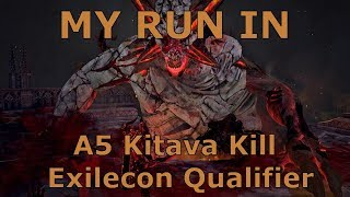 [Path of Exile] My run in Act 5 Kitava Kill Exilecon Qualifier