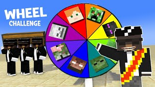 Monster School : Lucky Wheel With Coffin Dance Version - Funny Minecraft Animation