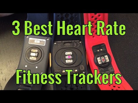 3 Best Heart Rate Fitness Trackers