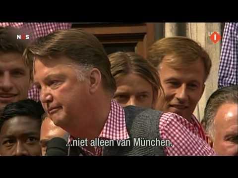 Louis van Gaal: Wir Sind die beste + Bierdouche Bayern Munchen (HQ - 16:9)