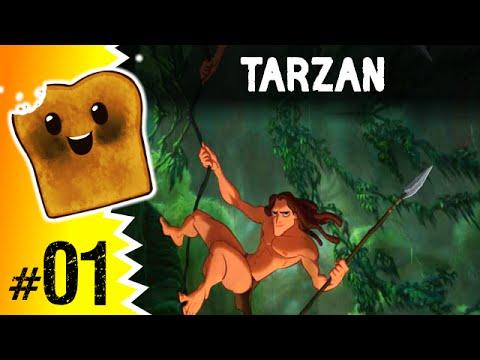 Gry Dla Dzeci: TARZAN #1 - Mały Król Dżungli!