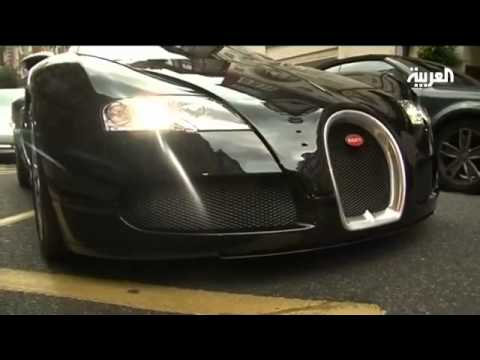 Arabs take London by storm in their Luxury cars