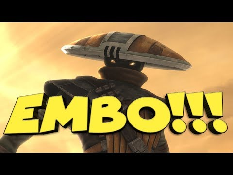 EMBO!!!!   AMAZING!!!  star wars galaxy of heroes swgoh