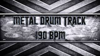 Metal Drum Track 190 BPM (HQ,HD)