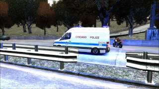 "GTA 4 ""CHICAGO'S FINEST"" FEATURING THE NEW 2012 CHICAGO POLICE SPRINTER VAN"