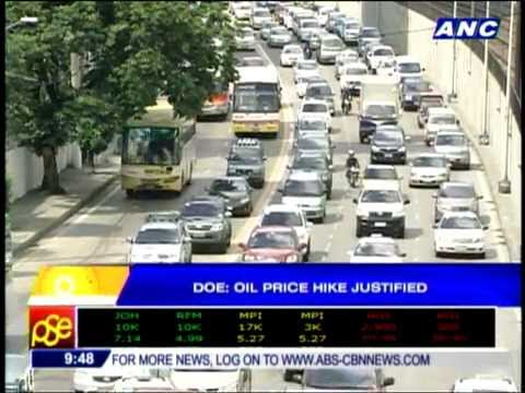 DOE: Oil price hike justified